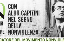 Nel 50° anniversario della morte, Compresenza di Aldo Capitini – 19 ottobre, 1968-2018