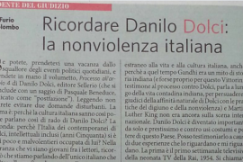Furio Colombo ricorda Danilo Dolci