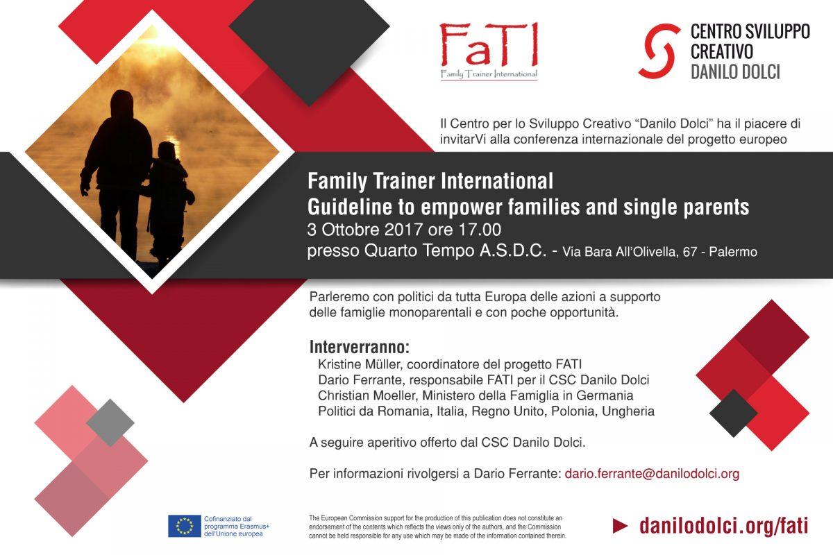 FATI: Workshop e conferenza internazionale sulle politiche familiari
