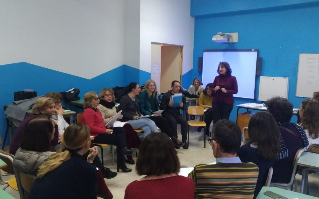 DROP'IN: Peer to Peer Training, docenti all'azione!