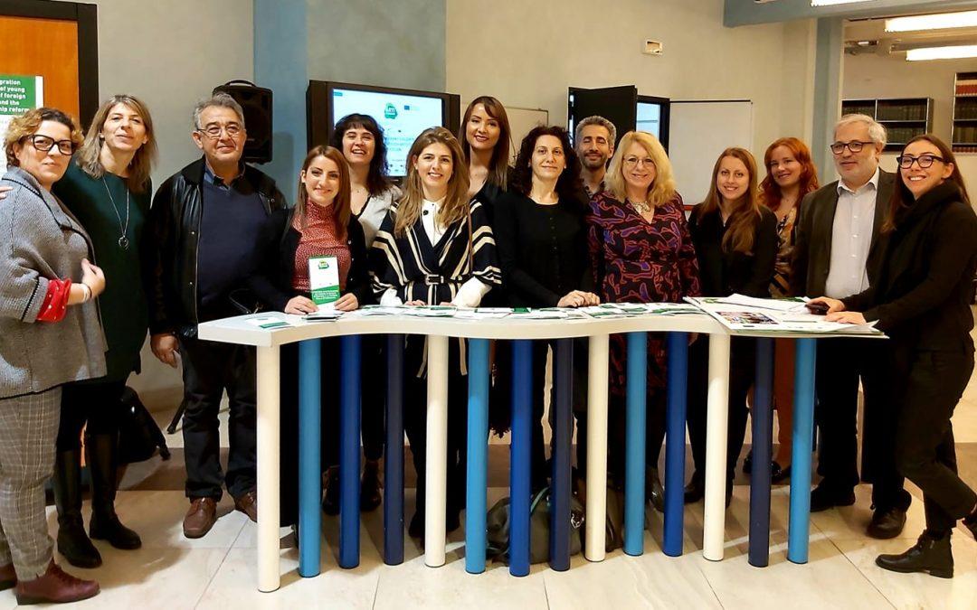 ArtsTogether a Roma per la conferenza internazionale sull'integrazione dei giovani stranieri