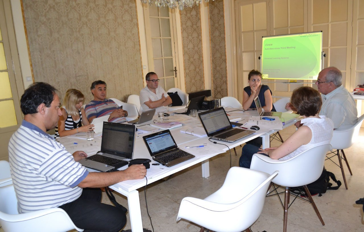 CAREM – IV partner meeting a Palermo