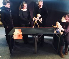 Create a Puppet, Create yourself: workshop a Glasgow sulla creazione dei burattini per l'inclusione sociale