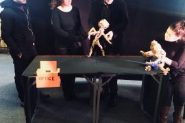 Create a Puppet, Create yourself: workshop a Glasgow sulla creazione dei burattini per l'inclusione sociale