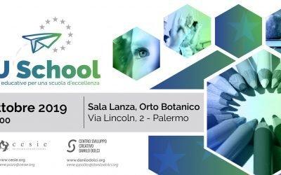 EU school – Scuola ed Europa: alleanze educative per promuovere l'uguaglianza e l'eccellenza