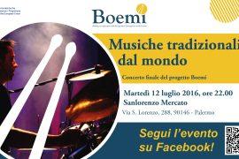 Musiche tradizionali dal mondo – Evento finale di BOEMI