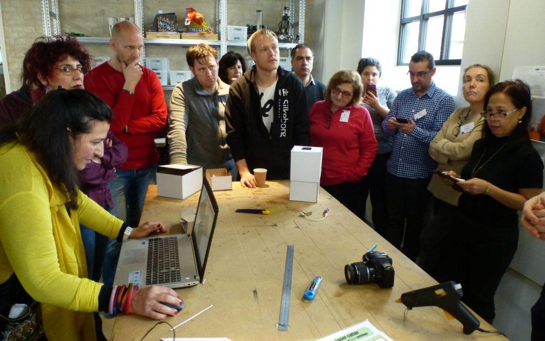 Prima study visit FABLAB: diffusione dei principi di FABLAB ai docenti europei