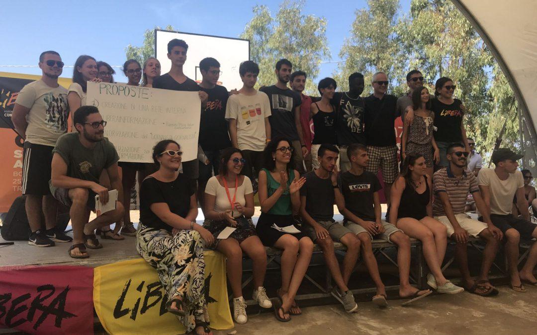 I giovani di LIBERA a Borgo di Dio: Memoria e comunicazione per il cambiamento