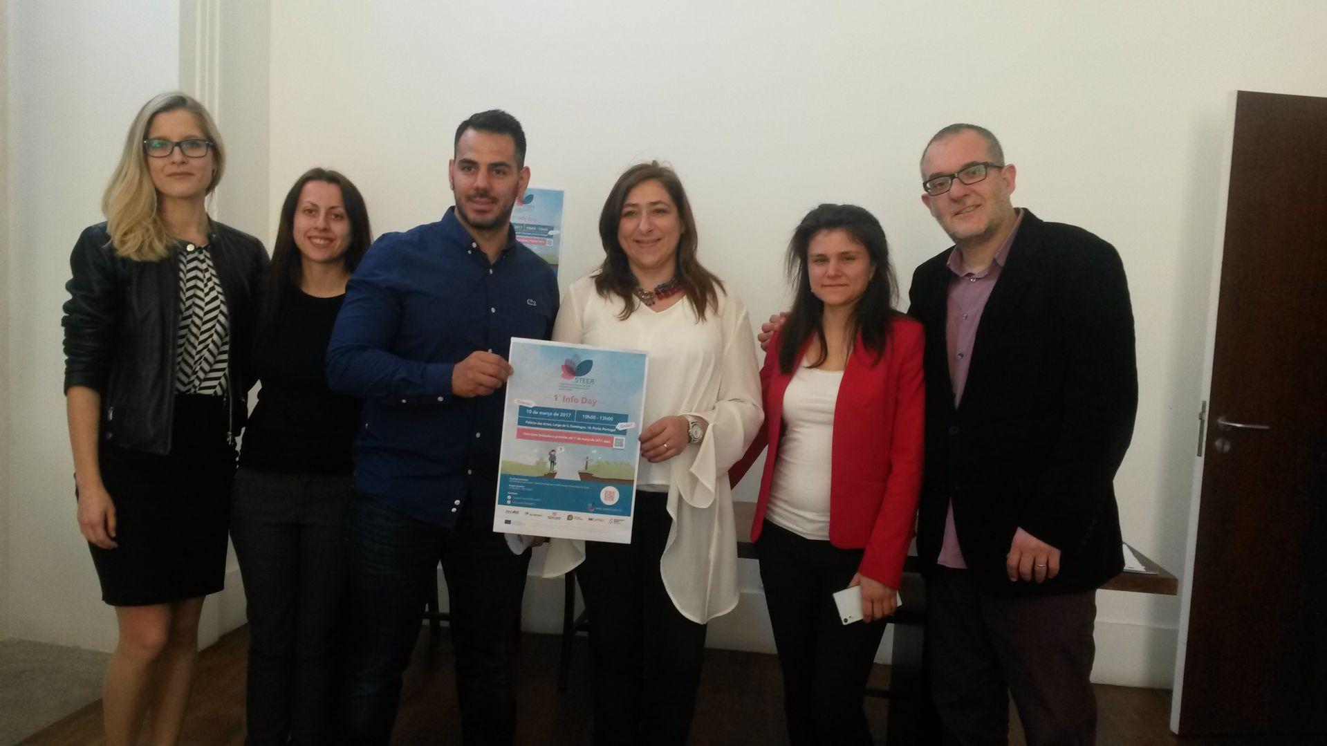 Grande successo per l'Info Day del progetto STEER a Porto