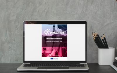 Il manuale per insegnanti di PRACTICE: linee guida nel lavoro di prevenzione