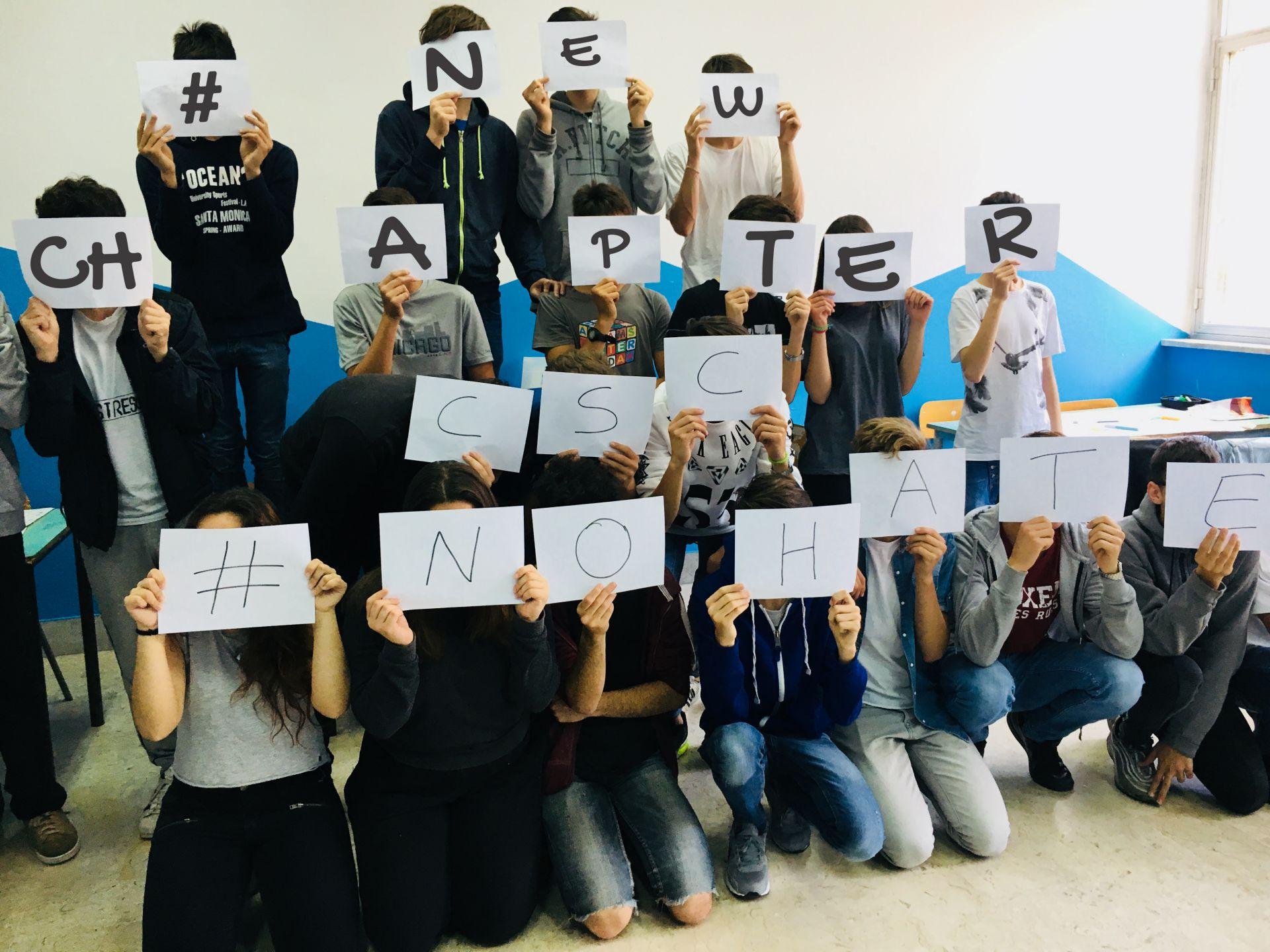 NEw CHapter: Workshop con gli studenti contro l'accettazione dell'odio in rete