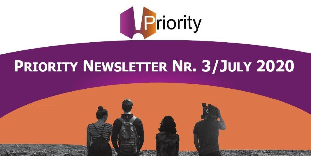 PRIORITY terza newsletter – luglio 2020