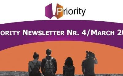 PRIORITY Newsletter n. 4 – Marzo 2021