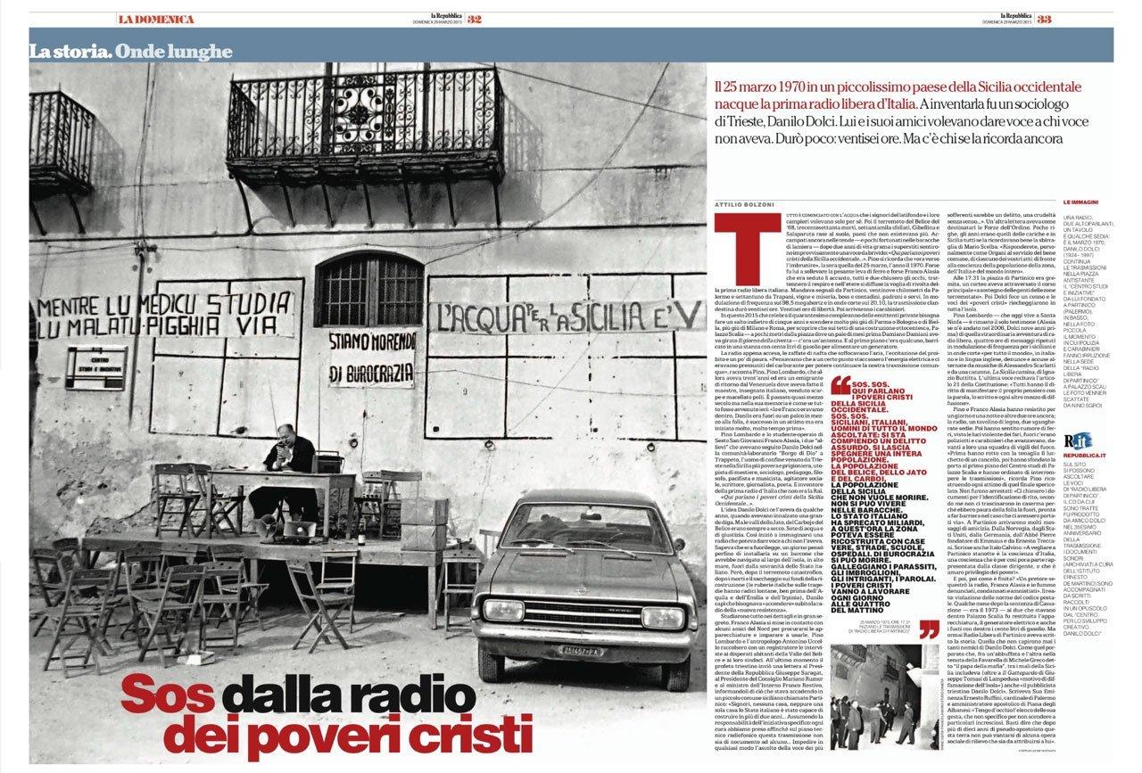 Repubblica racconta Radio Libera