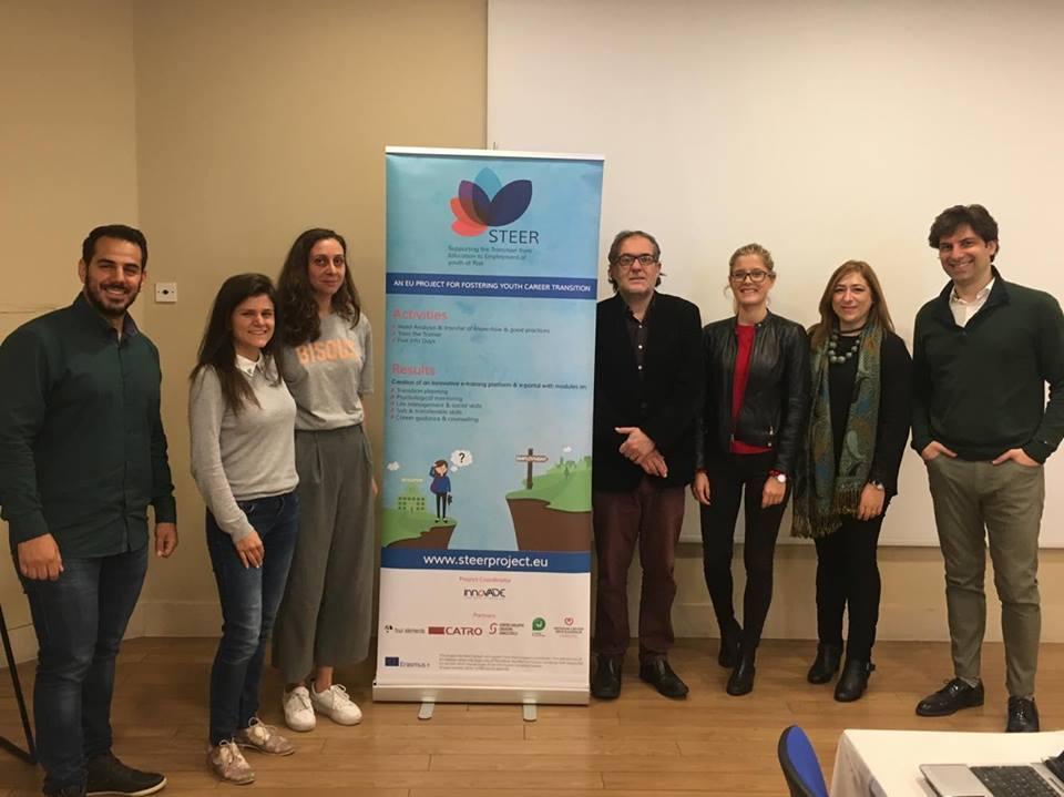 Giovani NEET: A Nicosia la conferenza finale di STEER