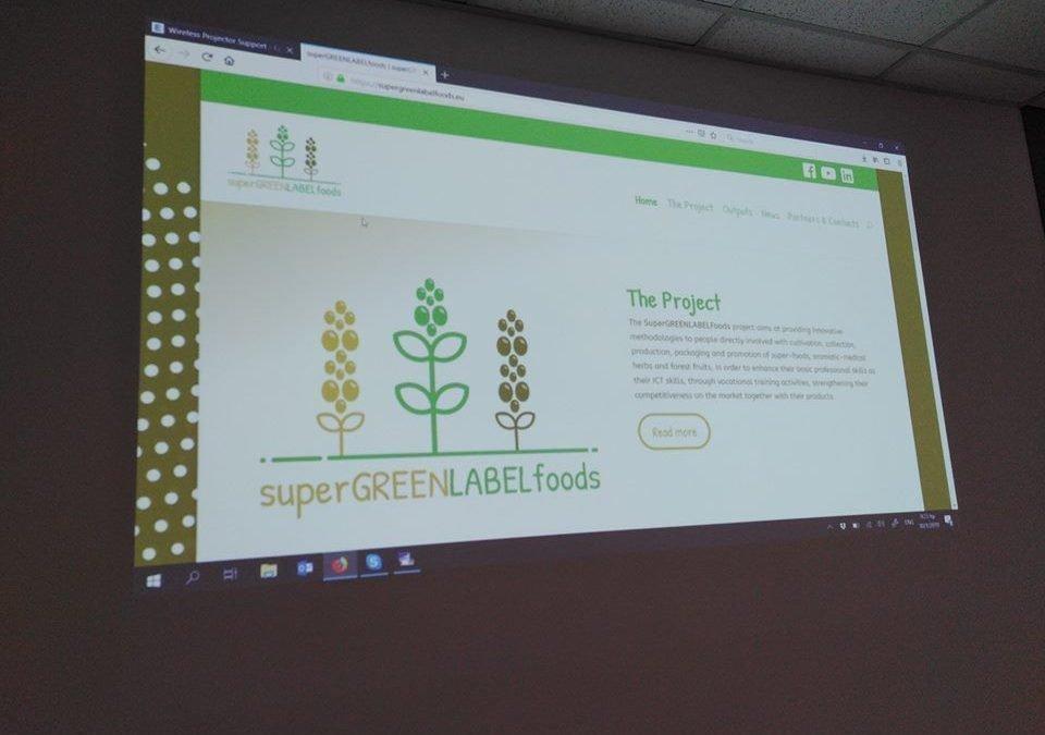 SuperGREENLABELFoods: Nuove competente per la promozione di superfoods ed erbe aromatiche medicinali